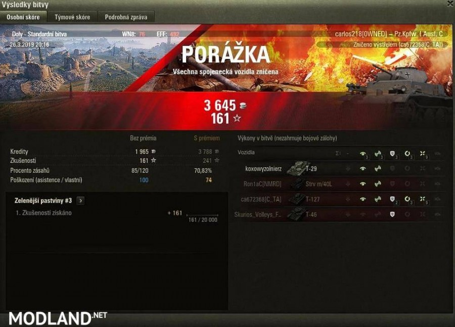 Customized After Battle stats windows [win/loss/draw] [1.5.1.0]